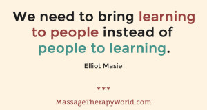 Online courses for massage therapists